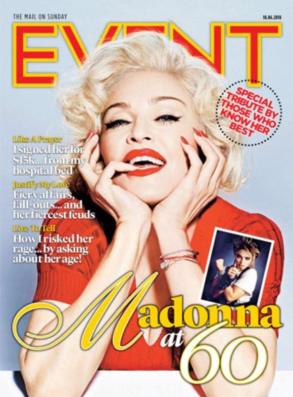 British Event UK Magazine June 2018: MADONNA COVER STORY & FEATURE