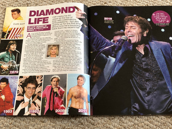 Love TV Magazine December 8 2018 Sir Cliff Richard