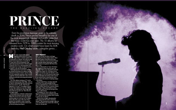 UK Long Live Vinyl Magazine July 2018: PRINCE ROGERS NELSON - 60th Birthday Special Edition