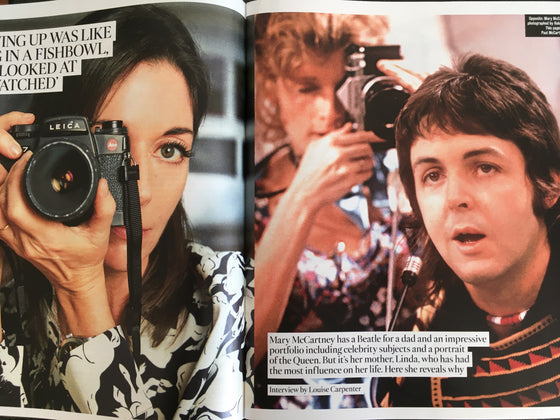 UK Times Magazine January 2019: Felicity Jones - Mary on Sir Paul McCartney & Linda