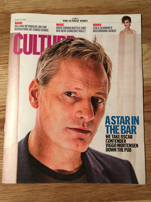 UK Culture Magazine January 2019: VIGGO MORTENSEN COVER STORY