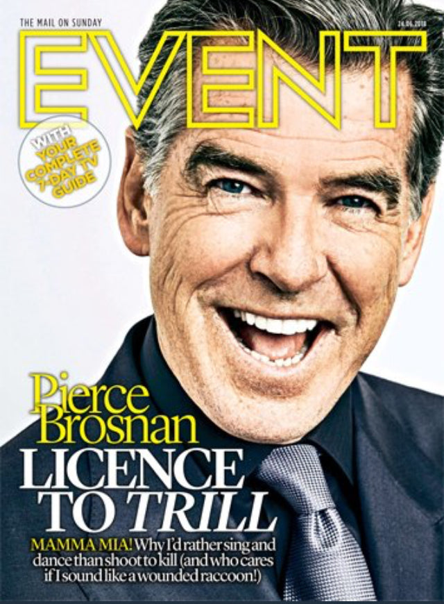 UK Event June 2018: PIERCE BROSNAN Whitney Houston STEFANIE POWERS David Byrne
