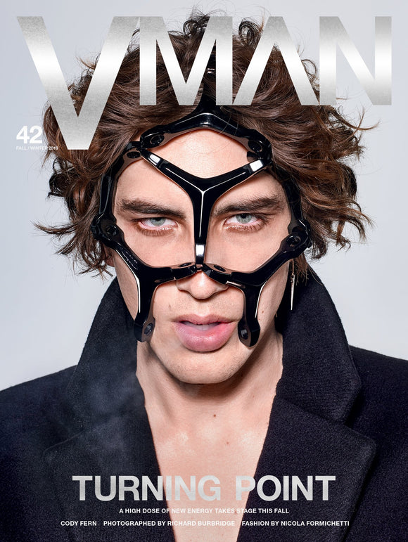 V MAN Magazine #42 2019 Cody Fern Cover