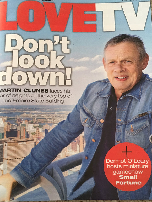 LOVE TV Magazine 02/2019: MARTIN CLUNES COVER STORY