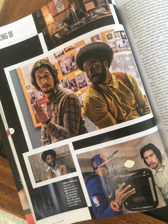 UK Total Film Magazine Summer 2018: Timothee Chalamet Adam Driver David Tennant