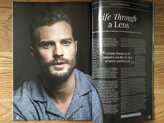 London Close Up Magazine February 2019: Jamie Dornan Exclusive Interview
