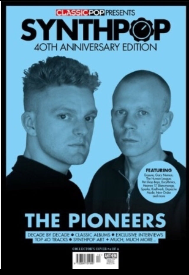 CLASSIC POP PRESENTS magazine - Synth-Pop 40th anniversary - Erasure Cover
