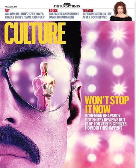 UK CULTURE Magazine FEB 2019: RAMI MALEK - BOHEMIAN RHAPSODY COVER STORY