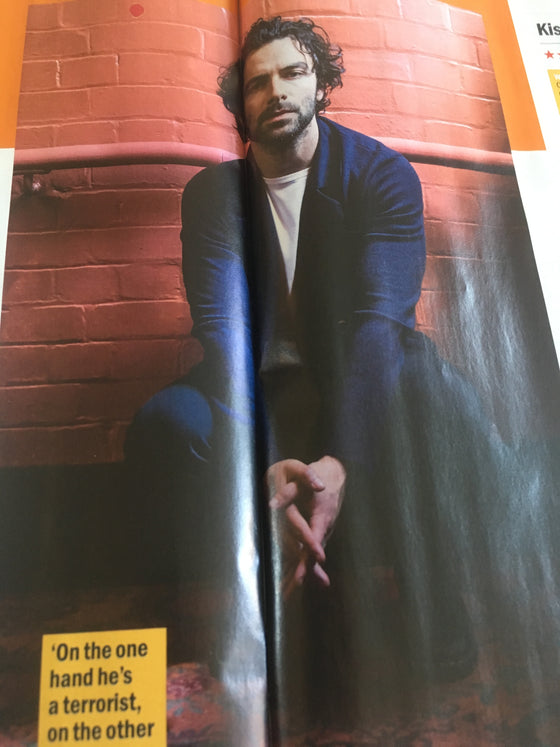 Time Out London June 26th 2018: Aidan Turner Interview