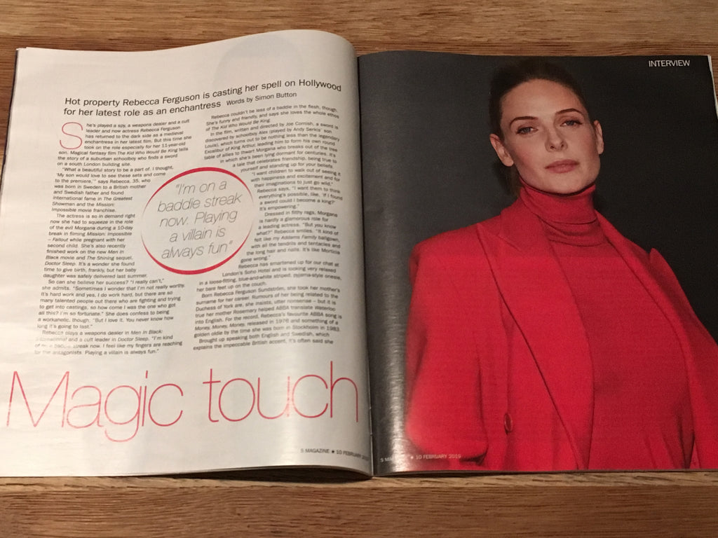 S EXPRESS MAGAZINE FEB 2019: BUDDY HOLLY Sara Vickers MATT WILLIS Adam Levine REBECCA FERGUSON