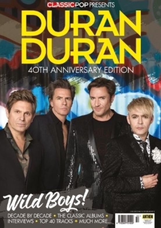 CLASSIC POP PRESENTS magazine August 2018 - DURAN DURAN 40th anniversary *132 pages* Cover #2