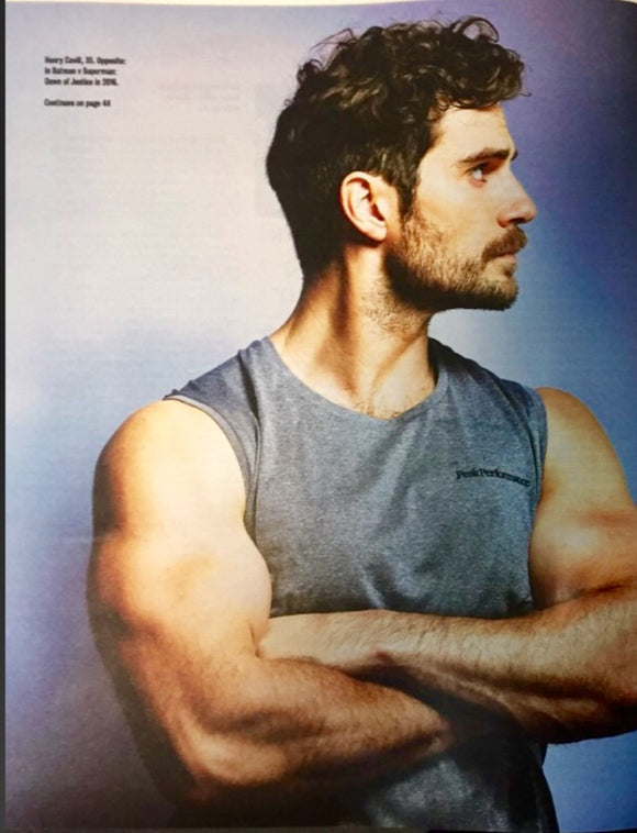 UK Times Magazine July 2018: HENRY CAVILL Cover Interview