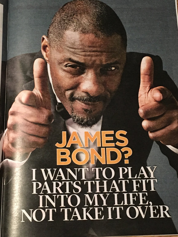 UK Event Magazine March 2019: IDRIS ELBA Jack Lowden THE BEATLES Jane Asher