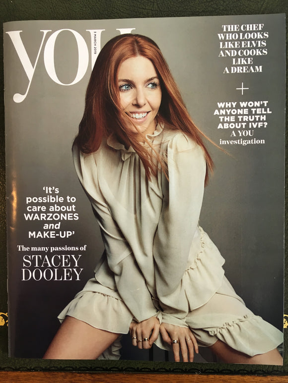 UK You Magazine March 2019: FREDDIE MERCURY Queen - STACEY DOOLEY COVER