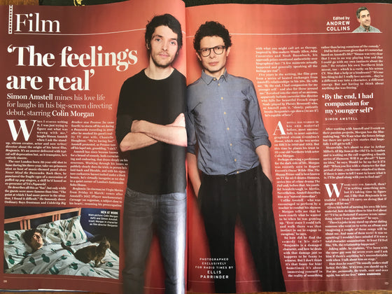 UK Radio Times Magazine 9 March 2019: HUGH GRANT Andie MacDowell COLIN MORGAN