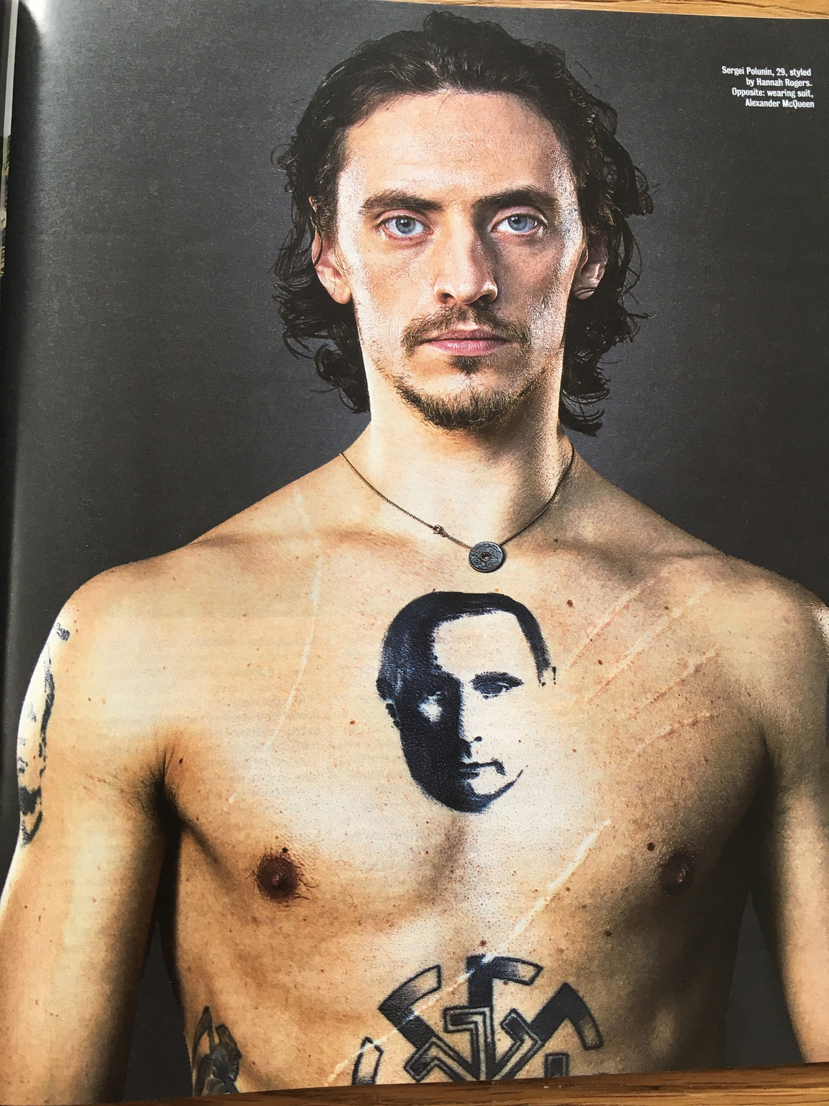 UK Times Magazine March 2019: Sergei Polunin