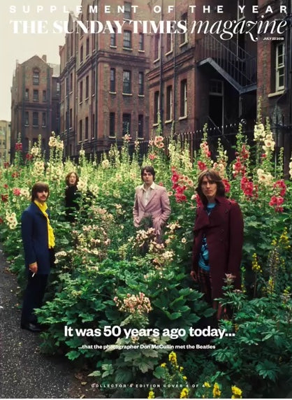 UK Sunday Times Magazine 22nd July 2018 The Beatles - Don McCullin - Cover 4