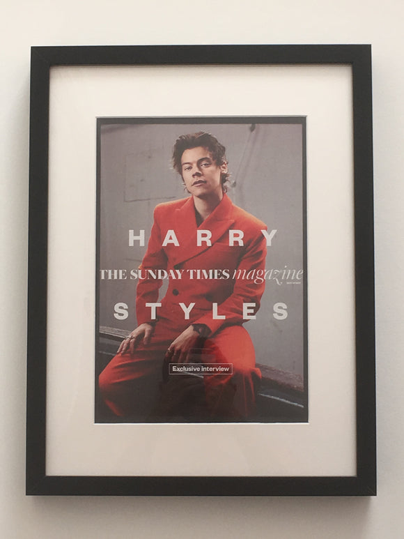 UK Sunday Times Magazine May 2017: Harry Styles Limited Framed Edition