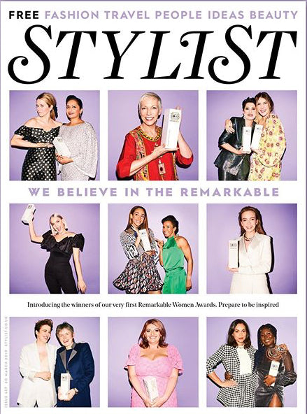 UK Stylist Magazine March 2019: ANNIE LENNOX Jodie Comer KEELEY HAWES