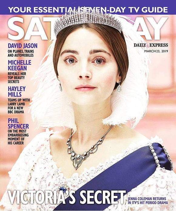UK Saturday Magazine 03/2019: JENNA COLEMAN Victoria HAYLEY MILLS David Jason
