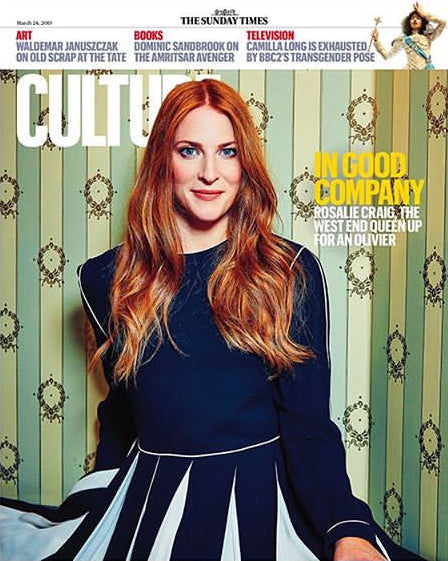 UK CULTURE Magazine March 2019: ROSALIE CRAIG Tom Hiddleston IDLES Joy Division