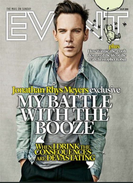 UK Event Magazine July 2018: JONATHAN RHYS MEYERS Cover Exclusive Interview