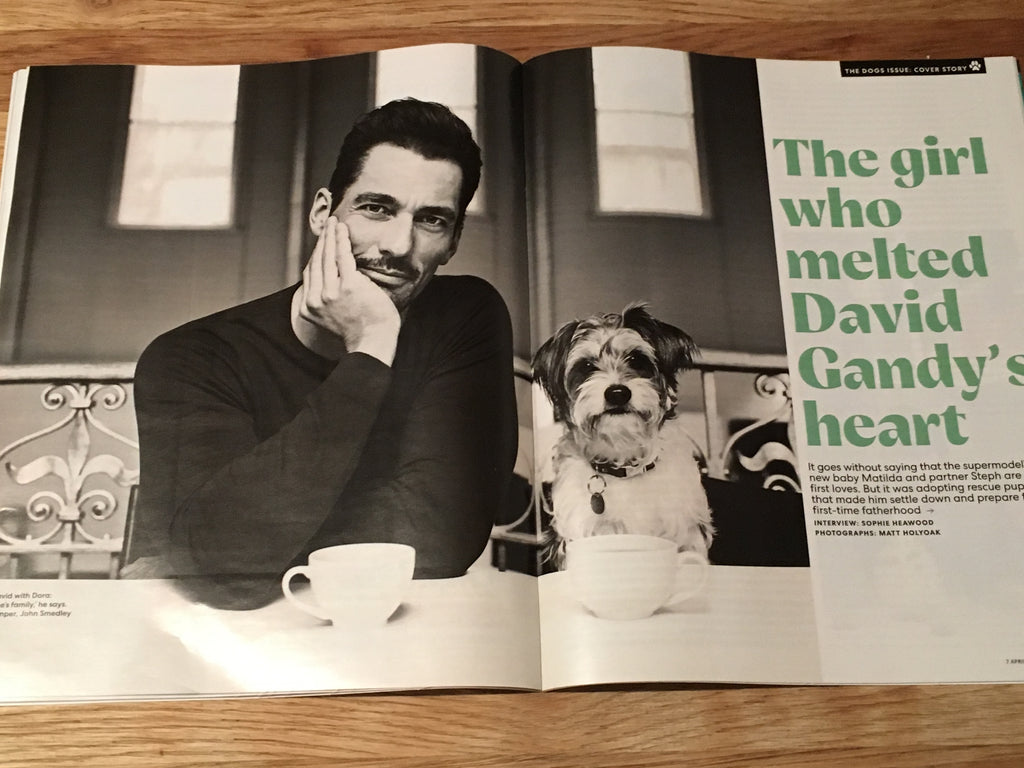 UK YOU magazine April 2019 David Gandy cover & interview