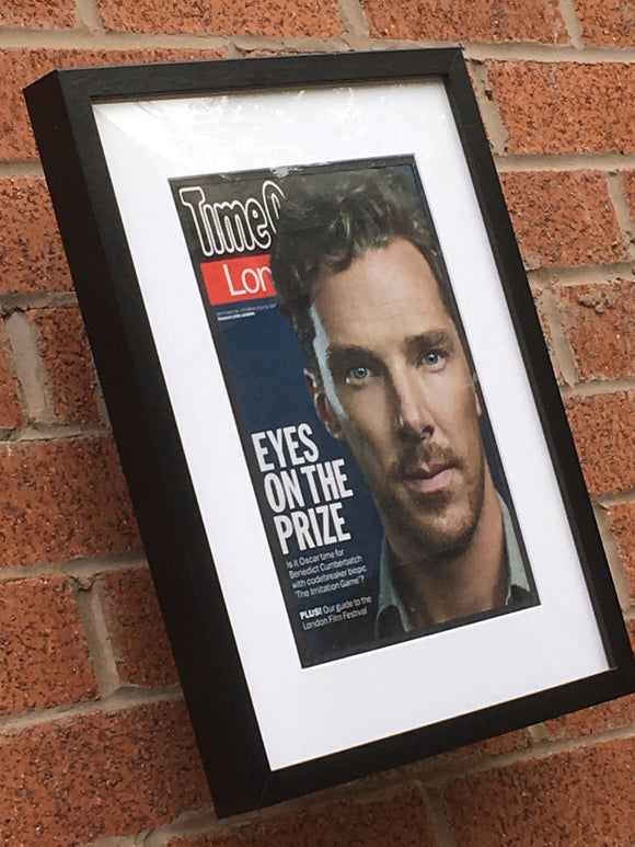 UK Time Out London Magazine: BENEDICT CUMBERBATCH Limited Framed Edition