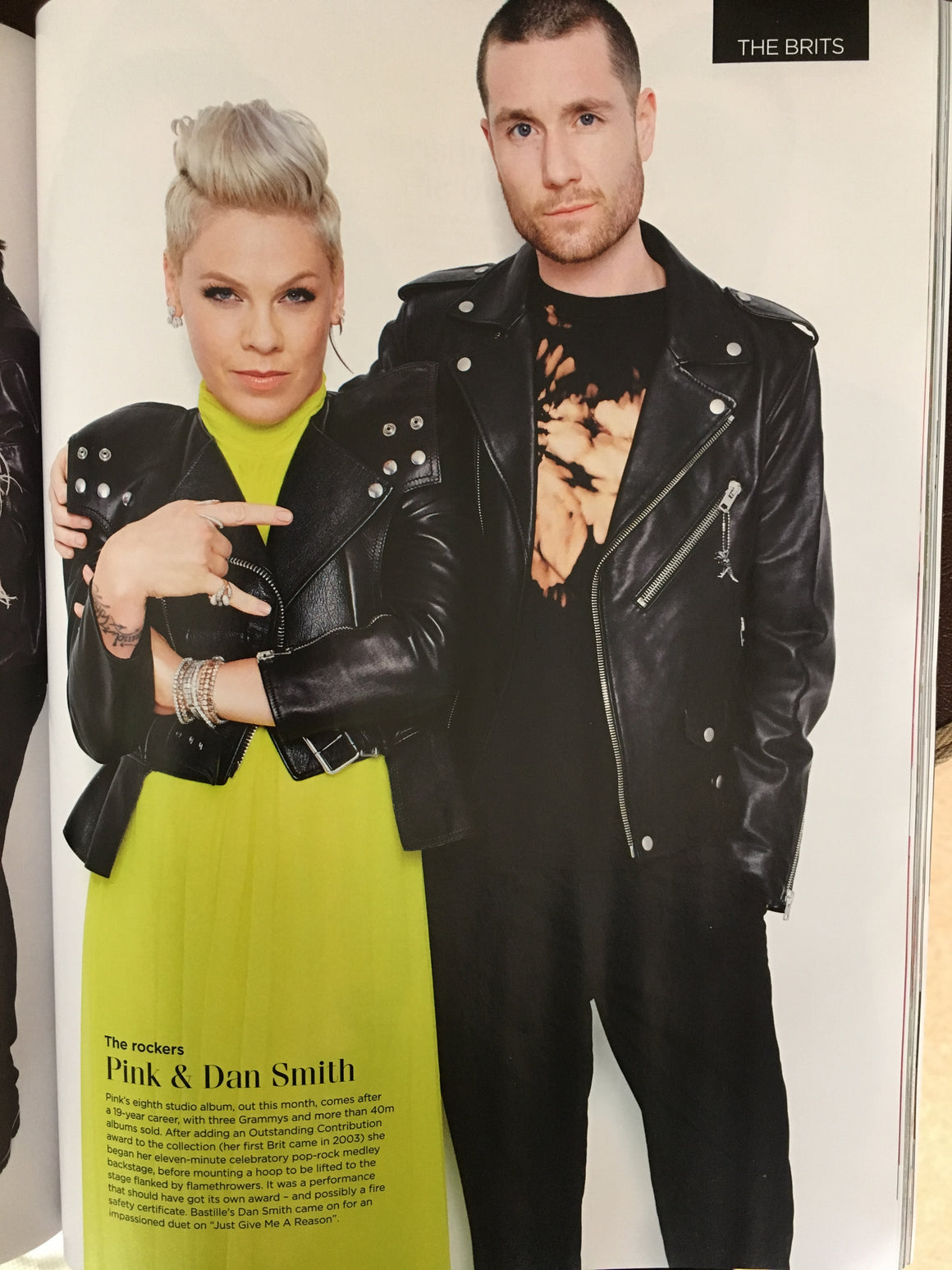 British GQ Magazine May 2019: P!NK Alecia Beth Moore Dan Smith Bastille Sam Smith