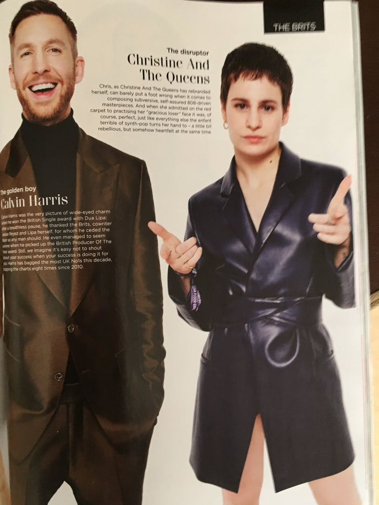 British GQ Magazine May 2019: The 1975 Matty Healy Bros Calvin Harris