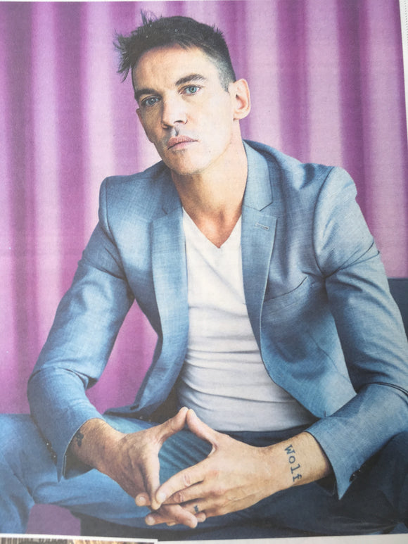 UK Times Weekend 11th August 2018: Jonathan Rhys Meyers Interview