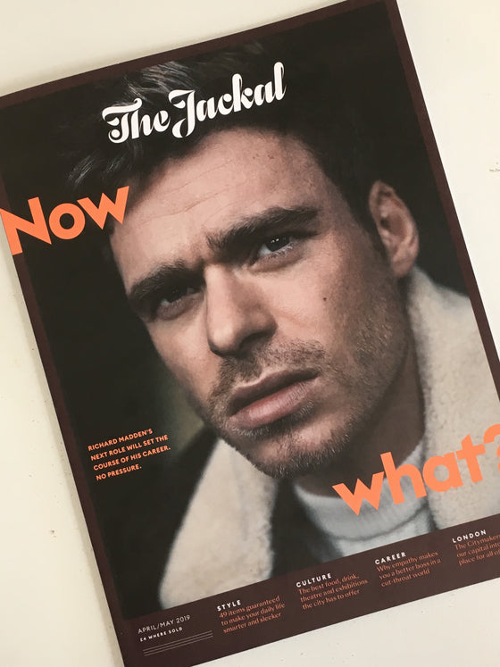 London Jackal Magazine April/May 2019 - Richard Madden Cover