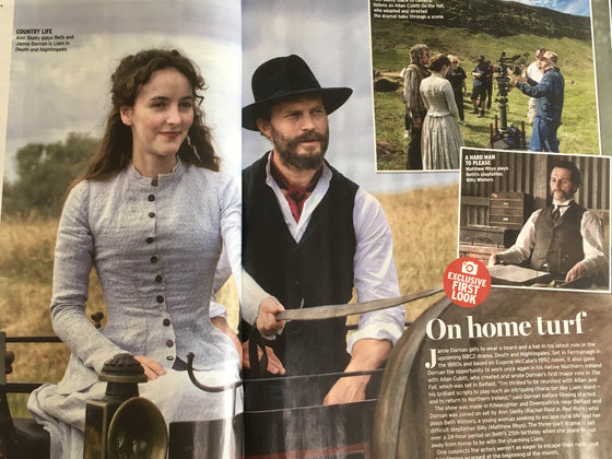 UK Radio Times Magazine August 2018: Jamie Dornan Death And Nightingales Exclusive