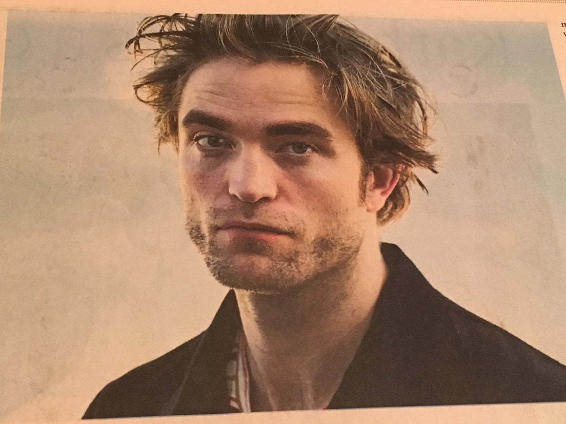 FT Life & Arts Supplement 27th April 2019 - Robert Pattinson Interview