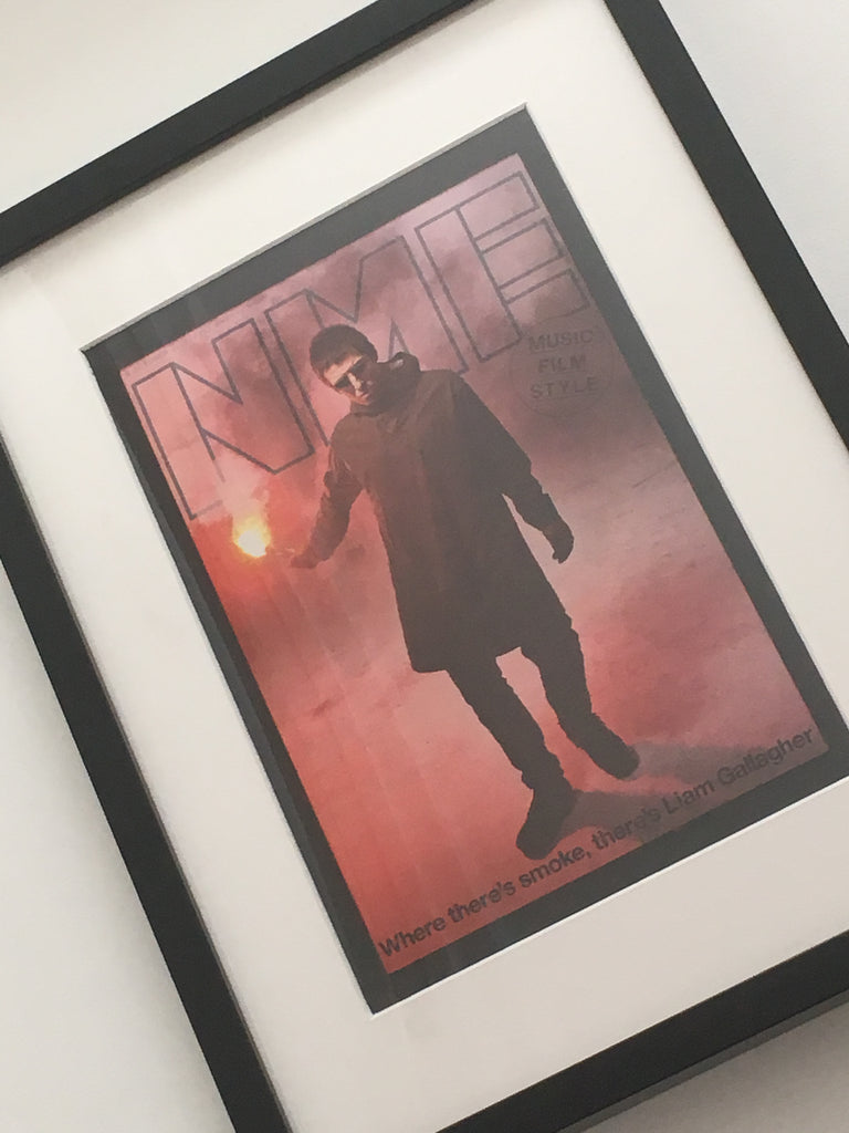 The NME Magazine 2017:  Liam Gallagher - OASIS Limited Framed Edition