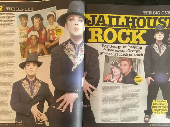 Seven Days Magazine January 2011: BOY GEORGE on helping George Michael and more