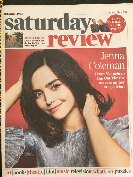 UK Times Review May 2019: JENNA COLEMAN Nicholas Hoult MAVIS STAPLES Prince