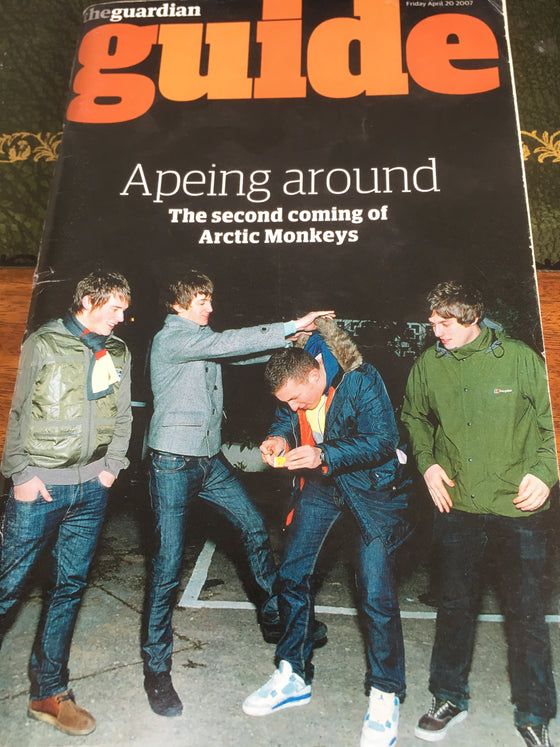 Guardian Guide Magazine April 2007: THE ARCTIC MONKEYS COVER
