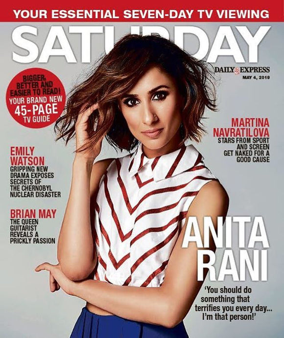 Saturday Magazine May 2019: ANITA RANI Leo Sayer ANGELA SCANLON Brian May