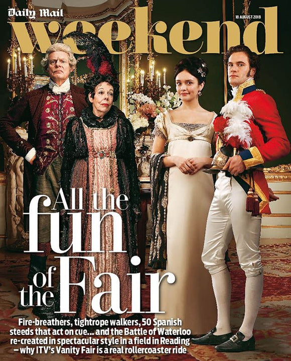 UK Weekend Magazine 18 August 2018: MARTIN CLUNES Tom Bateman GLEB SAVCHENKO Glenn Close