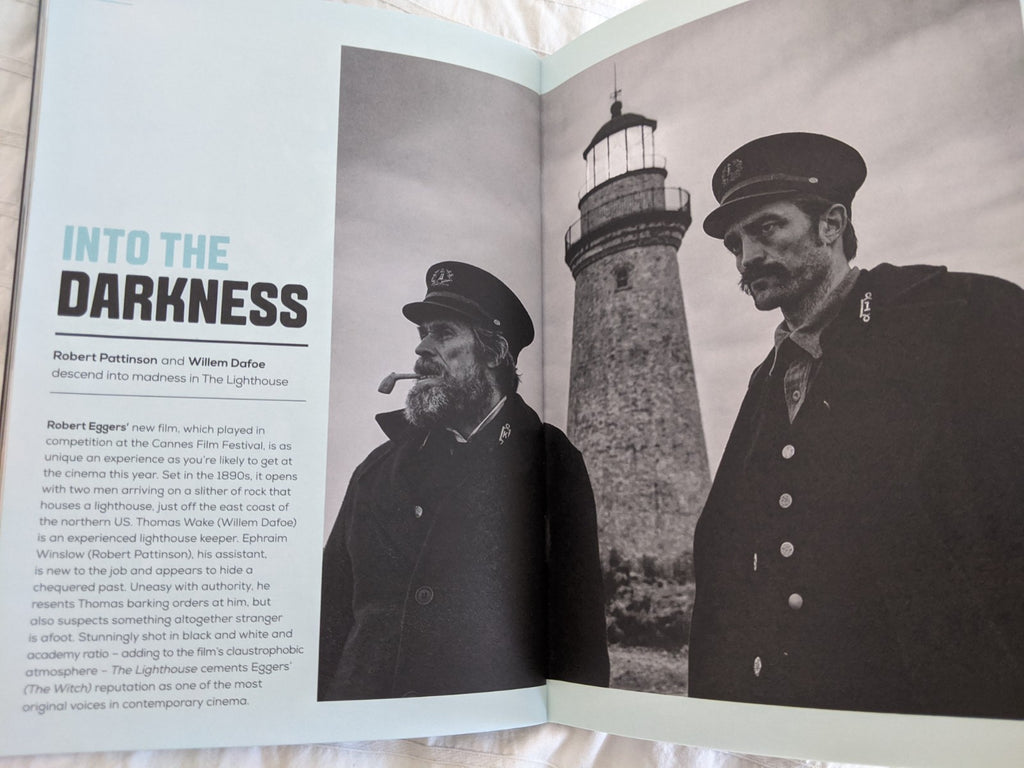 UK CURZON Magazine JAN 2020: Robert Pattinson Lighthouse PARASITE