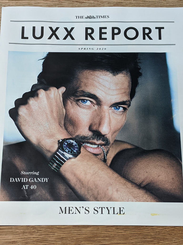 Times Luxx Report Magazine Spring 2020 - David Gandy Cover