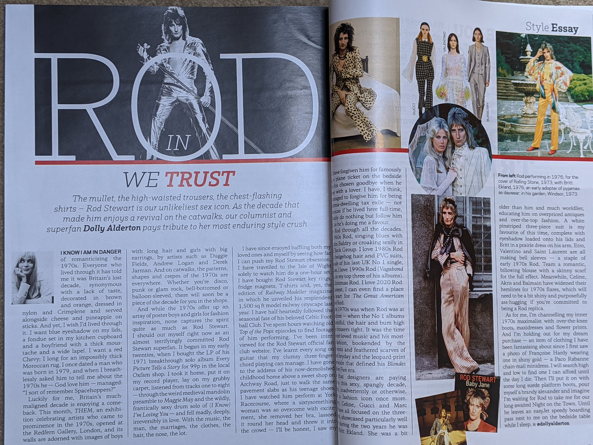 STYLE Magazine 1 March 2020: Rod Stewart Feature