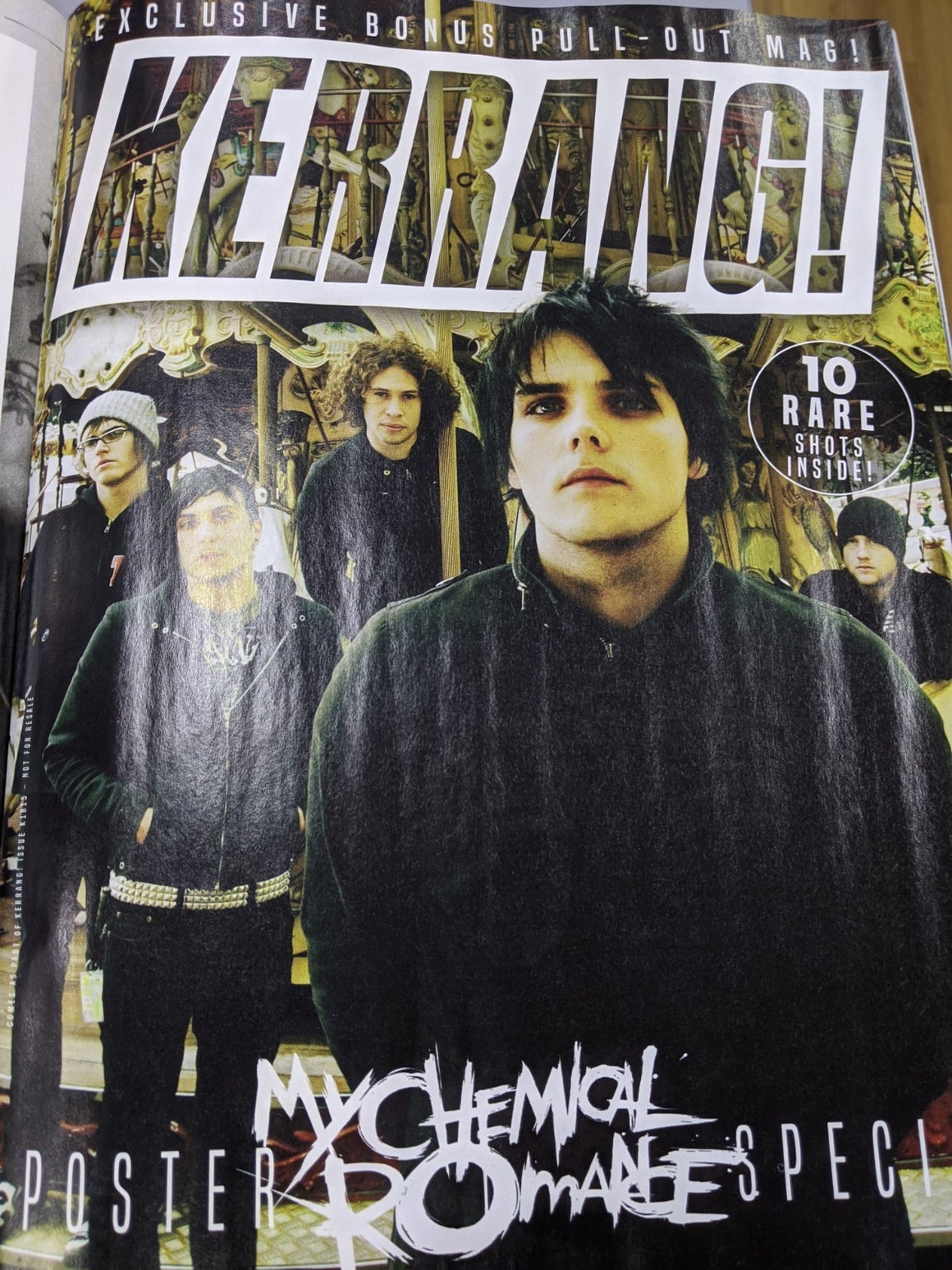 KERRANG! magazine March 2020: My Chemical Romance Exclusive Poster Pull Out