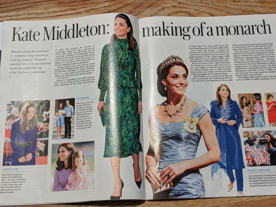 UK Stella Magazine March 2020: KATE MIDDLETON DUCHESS OF CAMBRIDGE FEATURE