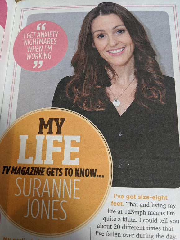 SUN TV Magazine September 2015: SURANNE JONES (Gentlemen Jack)