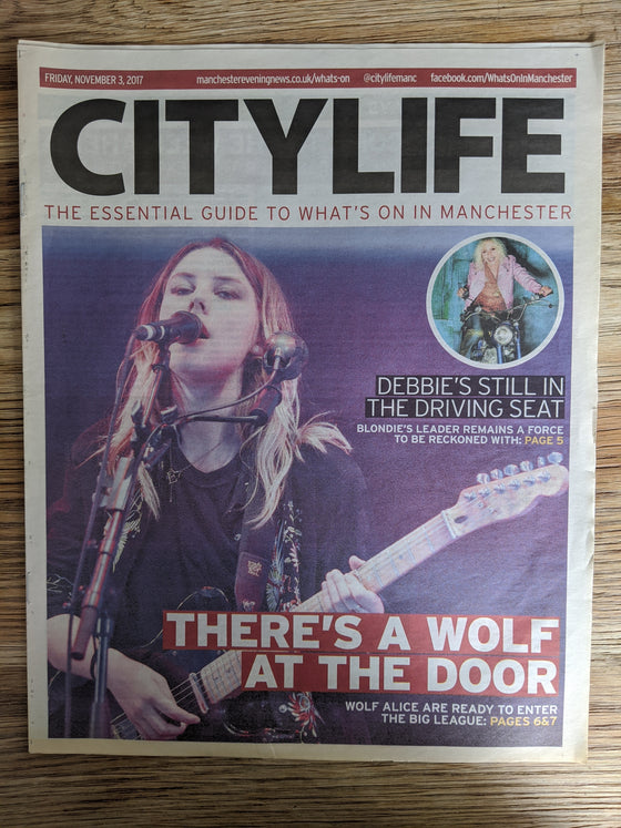UK City Life Supplement November 2017: Wolf Alice Cover