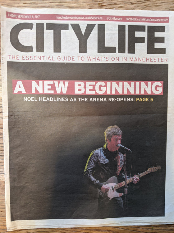 City Life Supplement September 2017: Noel Gallagher Oasis