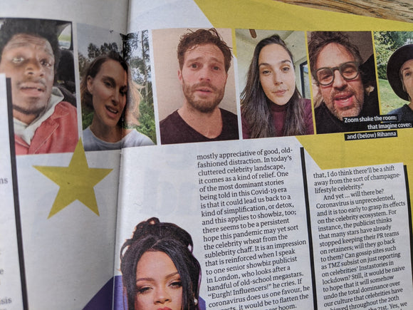 UK Guide Magazine 2 May 2020: Kelly Lee Owens Jamie Dornan