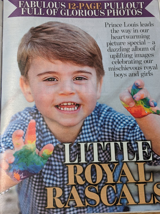 UK Royal Rascals MAGAZINE May 2020 George Charlotte Louis - Kate Middleton - NEW